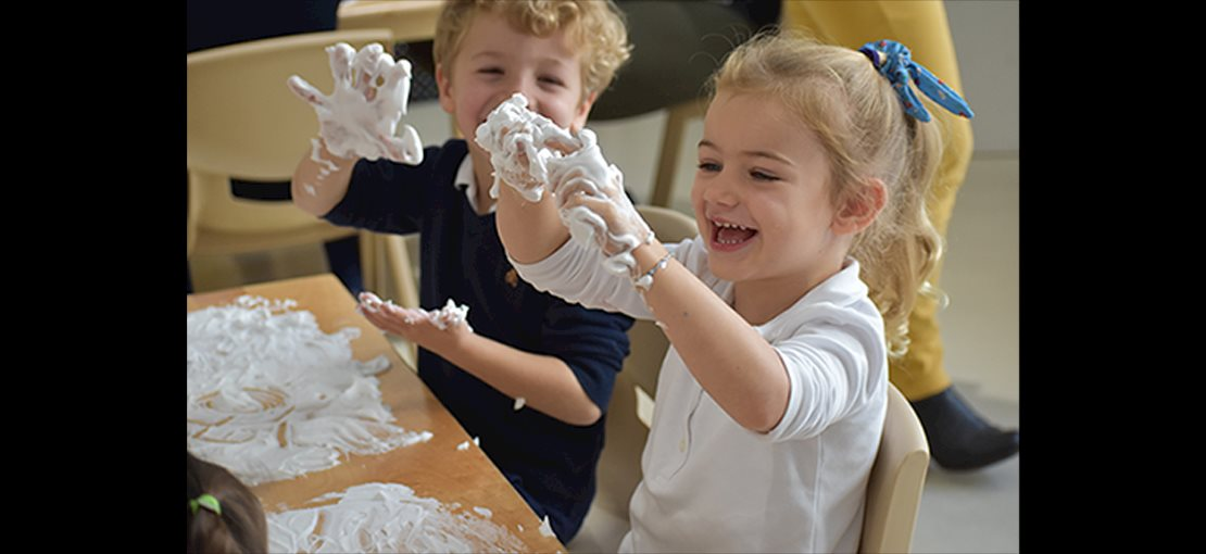 Tessa International School also incorporates fun while learning through activities.