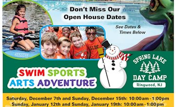 Spring Lake Day Camp of Ringwood, NJ -OPEN HOUSE