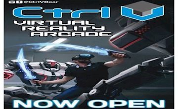Come experience virtual reality at Delaware's first virtual reality arcade here at Ctrl V