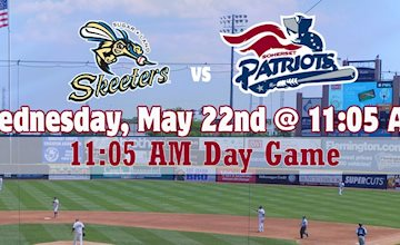 Somerset Patriots vs. Sugar Land Skeeters Baseball Game (Day)