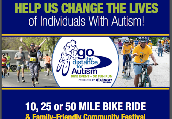 Go the Distance for Autism: Family Fun Festival! June 7