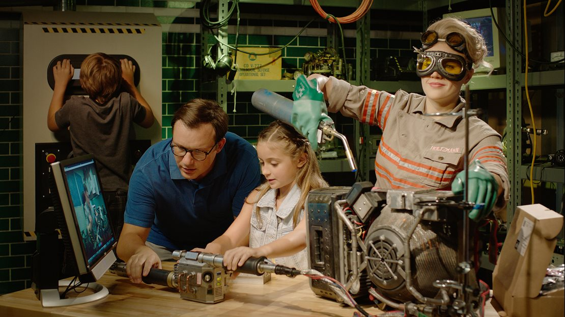 The Ghostbusters Experience is a multi-layered and sensor environment immersing you into a fantastical and spirited world, inspired by the 2016 film.