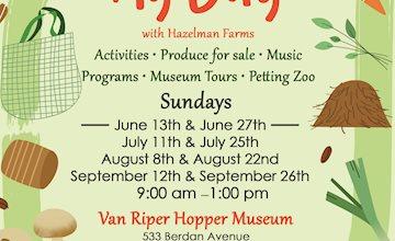 Family Ag Days at Van Riper Hopper House