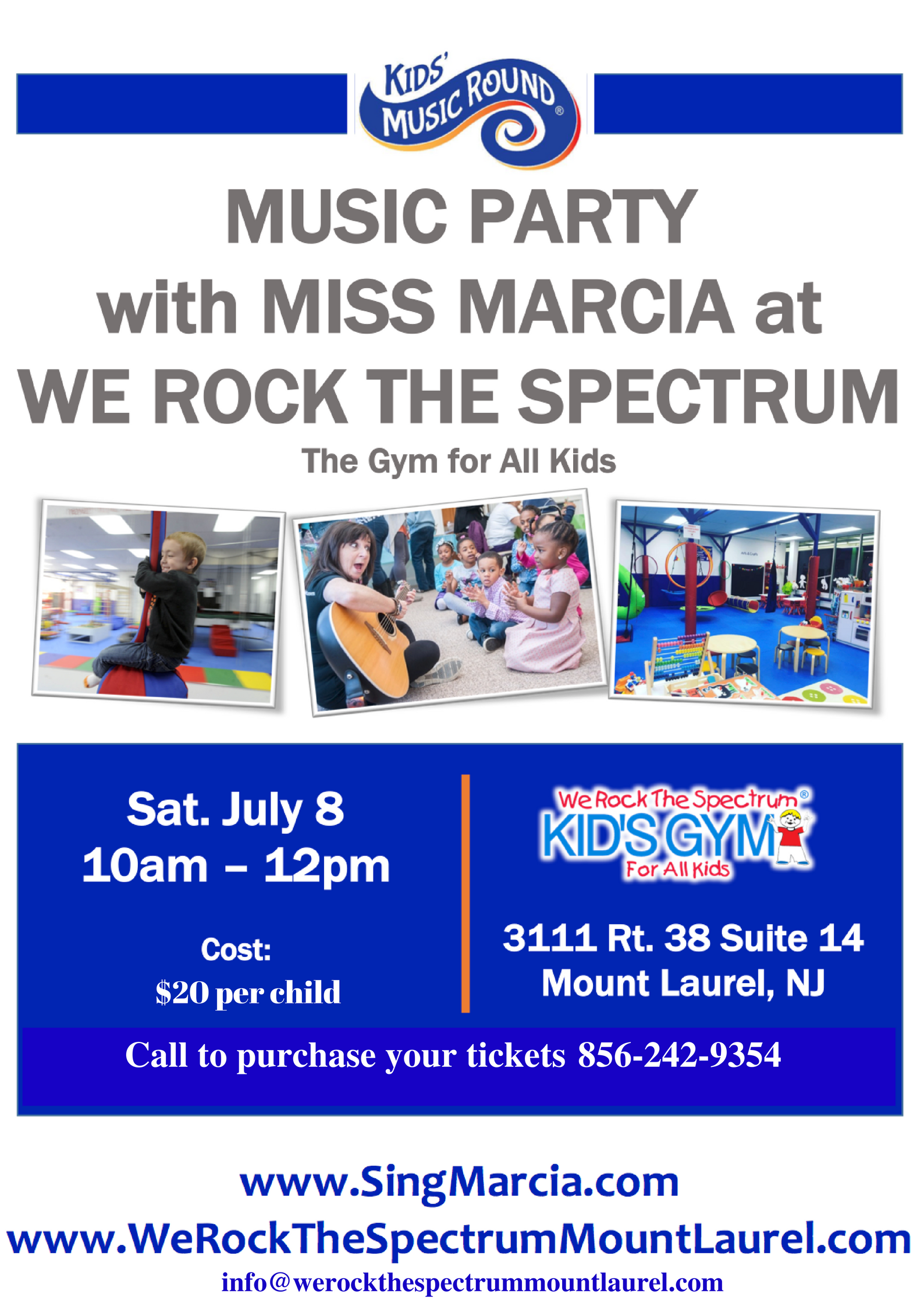 Kid's MusicRound Music Party