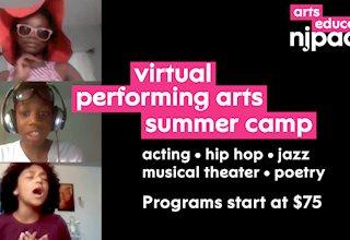 NJ PAC Virtual Summer Performing Arts Camp