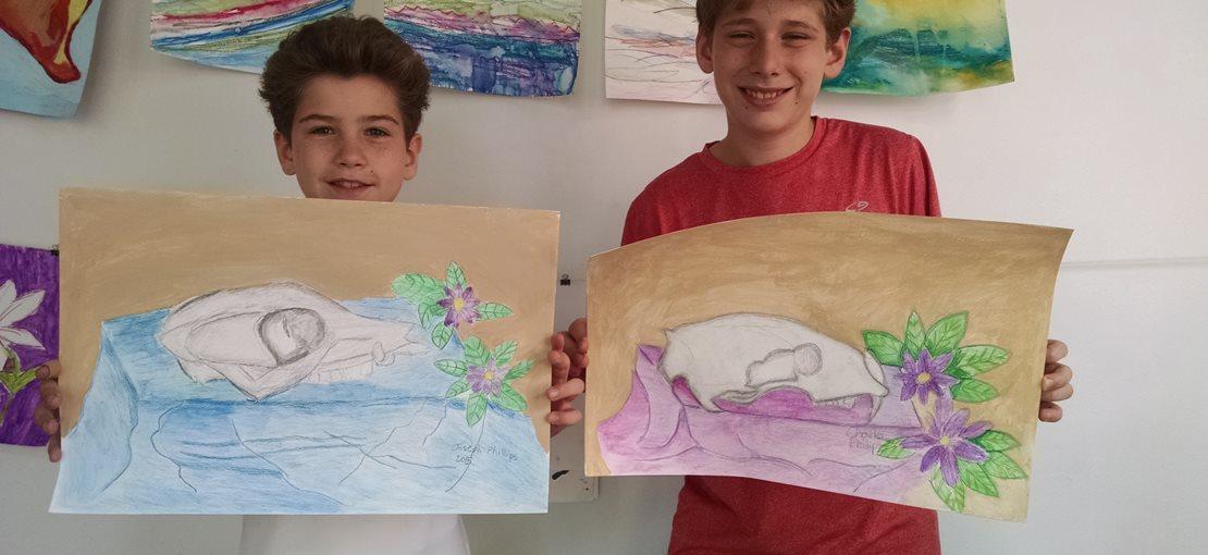 Register for Creative Hands Summart Art Camp!