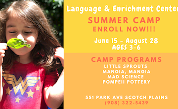 Open House and Open Play at the Language and Enrichment Center