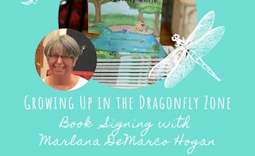 Growing Up in the Dragonfly Zone Book Signing at Cornerstone Music Studios
