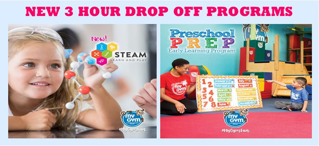 My Gym STEAM and Preschool Prep