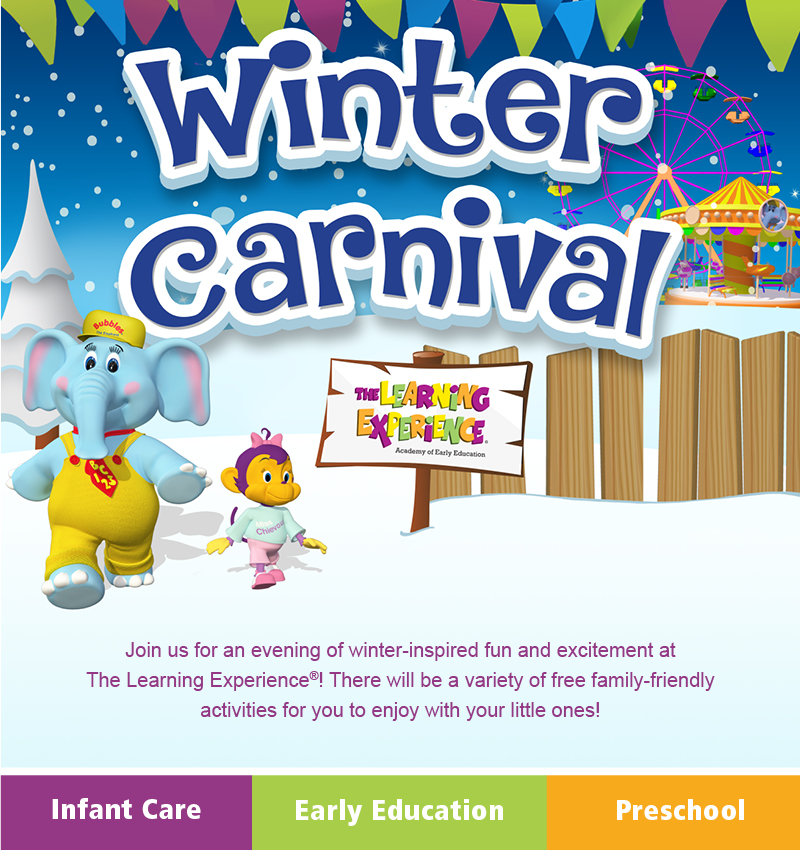 Winter Carnival at The Learning Experience of Monmouth Junction
