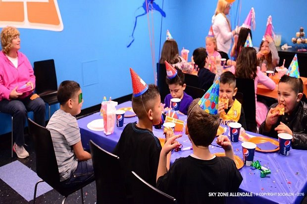 Many birthday party packages available