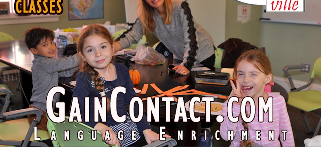 Your kids are immersed in French, Italian, Arabic, or Spanish during online and offline weekly language classes taught by native-speaking instructors Mondays through Saturdays.
