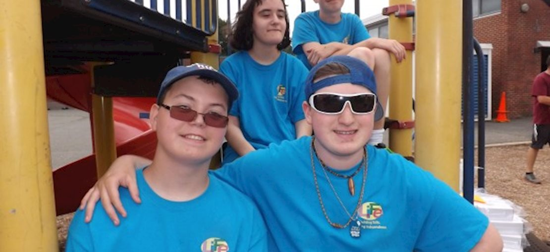 The LIFE Program and TravelQuest For 16-18 years olds special programs includes independent living skills training,  on site jobs with coaching, trips and more.