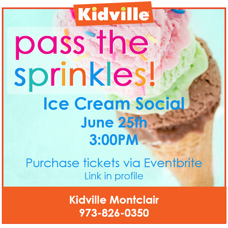Ice Cream Social at Kidville in Montclair