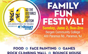 Go the Distance for Autism: Family Fun Festival! 2019