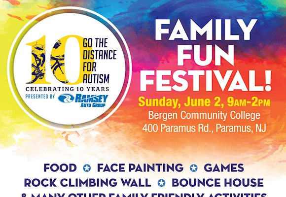 Go the Distance for Autism: Family Fun Festival! June 2