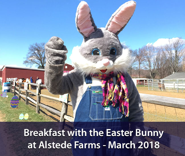 Easter Bunny Breakfast at Alstede Farms