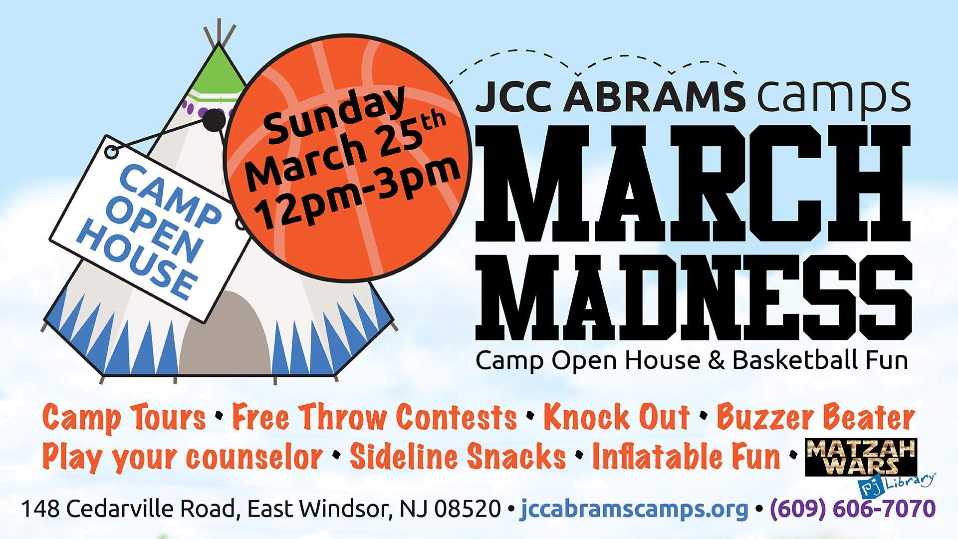March Madness Open House at JCC Abrams Camps