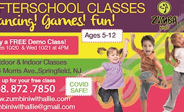 FREE After School Zumba Kids EVENT Ages 5UP