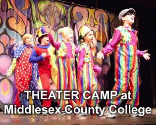 Theater Camp at Middlesex County College under the direction of Taubenslag Productions