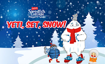 Yeti, Set, Snow! - Swedish Cottage Marionette Theatre