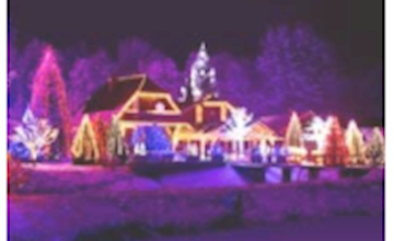 The Christmas Light Show & Village
