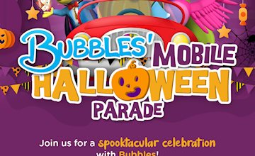 Bubbles Mobile Halloween Parade