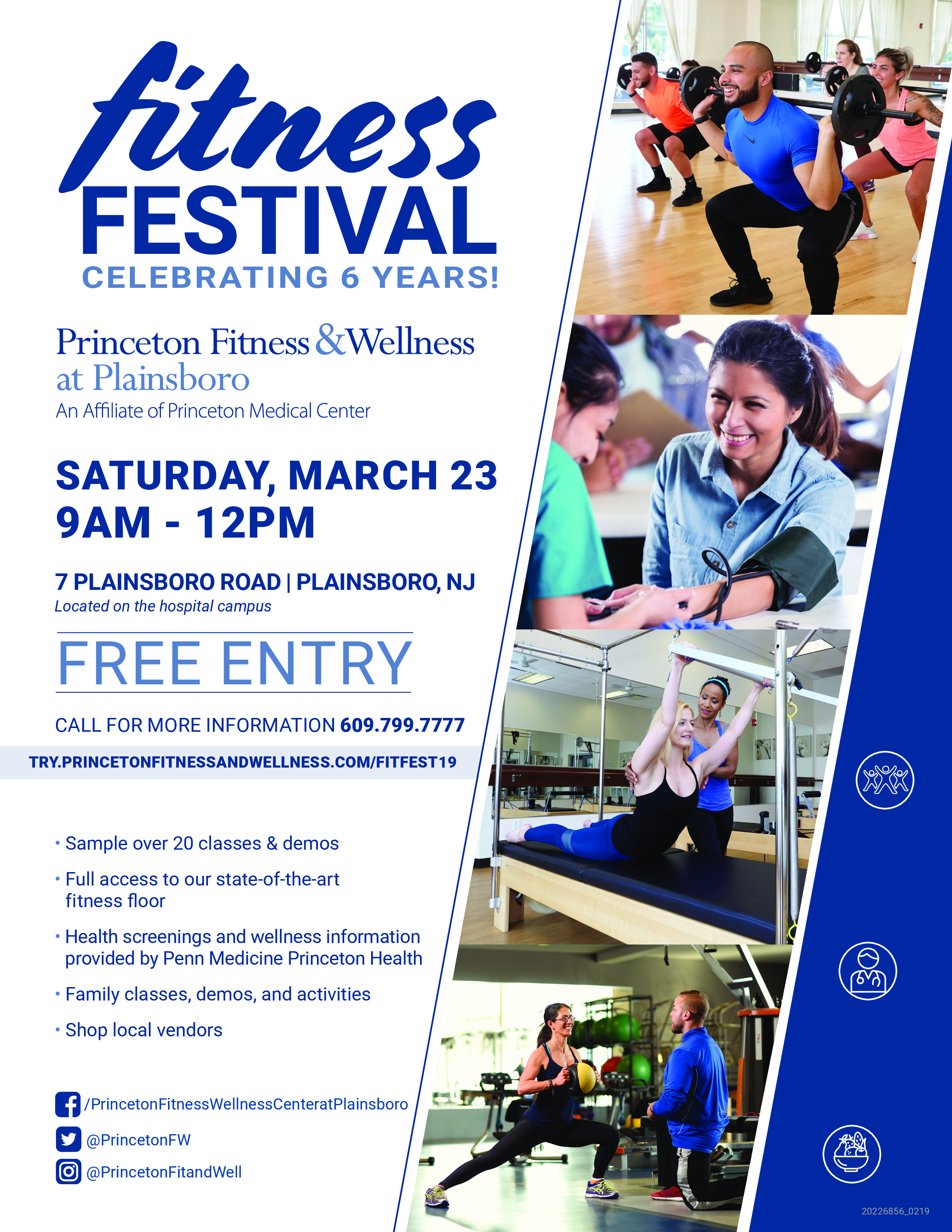 Fitness Festival at Princeton Fitness & Wellness at Plainsboro
