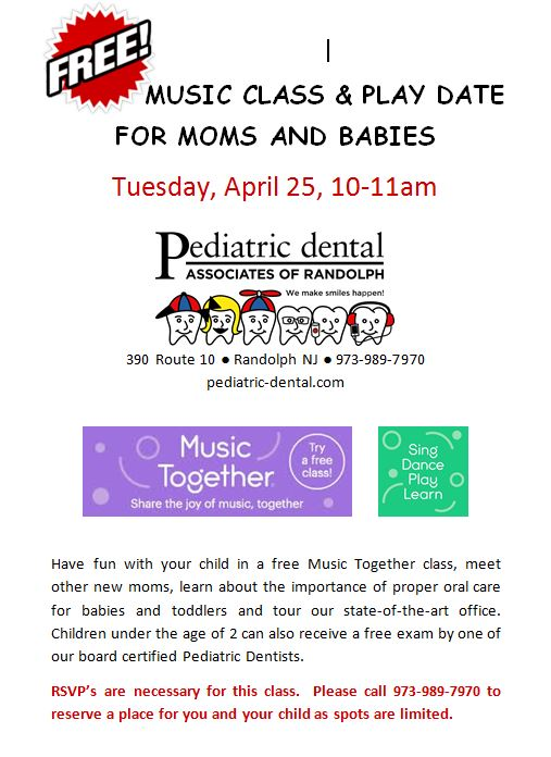 FREE Music Together Class for Moms & Babies