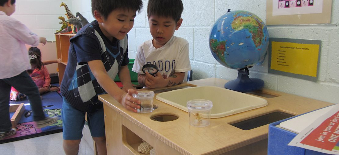 Pre K programs designed to introduce the excitement and enjoyment of learning