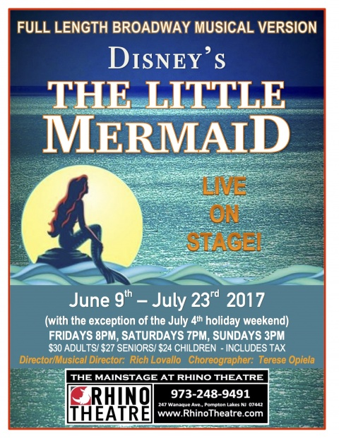 Disney's The Little Mermaid at Rhino Theatre