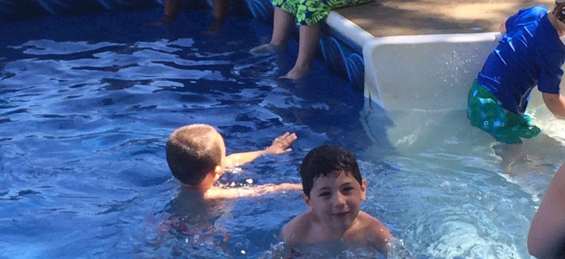 Instructional swim Kindercamp