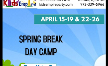 Kids Empire Spring Break Camp