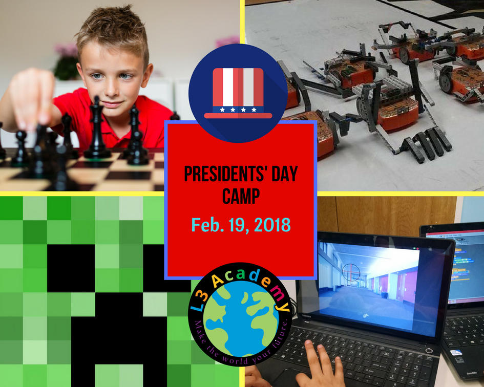 Presidents' Day STEM Camp at L3 Academy
