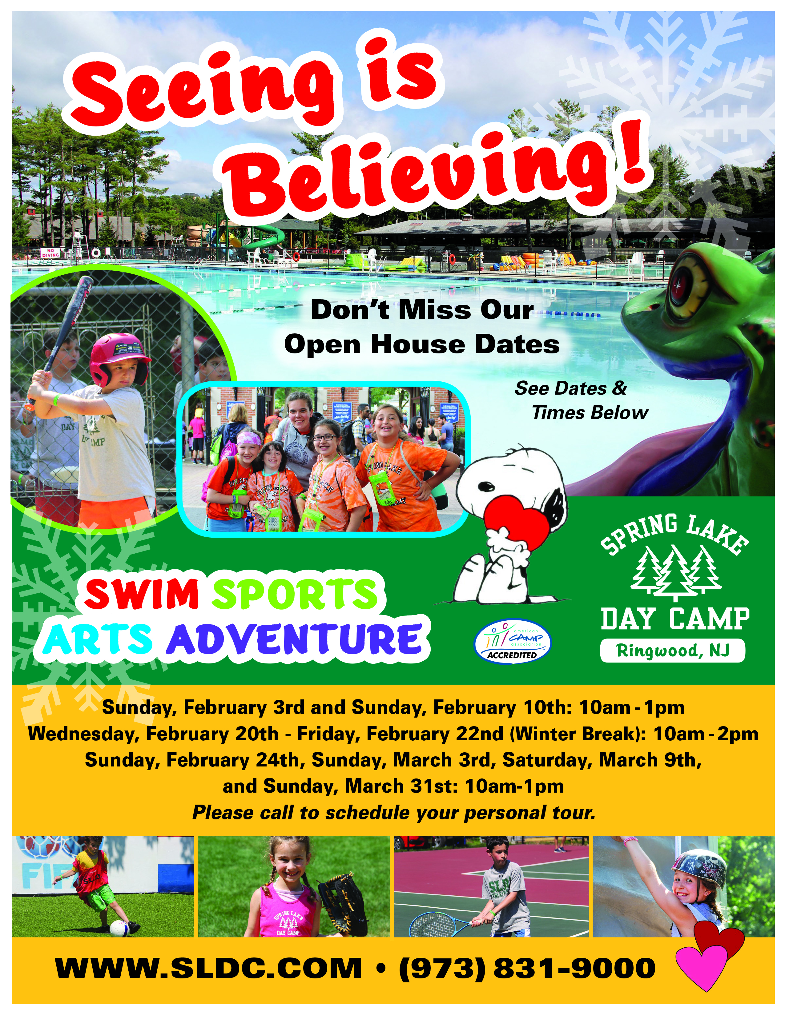 Ringwood Spring Lake Day Camp Open House