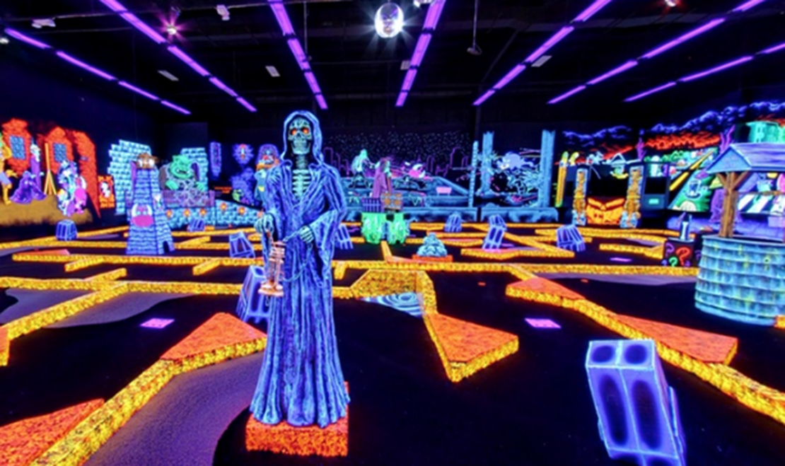 Monster Mini Golf located in Fairfield, NJ and Paramus, NJ