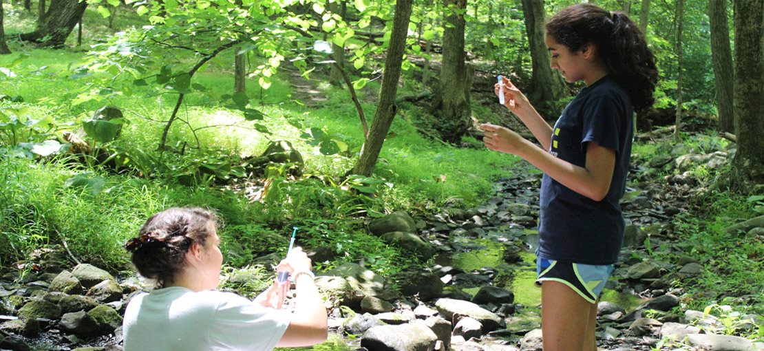 Learn about water quality in the high school STEM Academy!