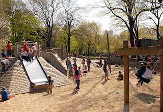 East 72nd Street Playground in Central Park