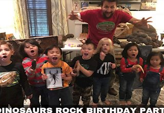 Dinosaurs Rock Birthday Parties