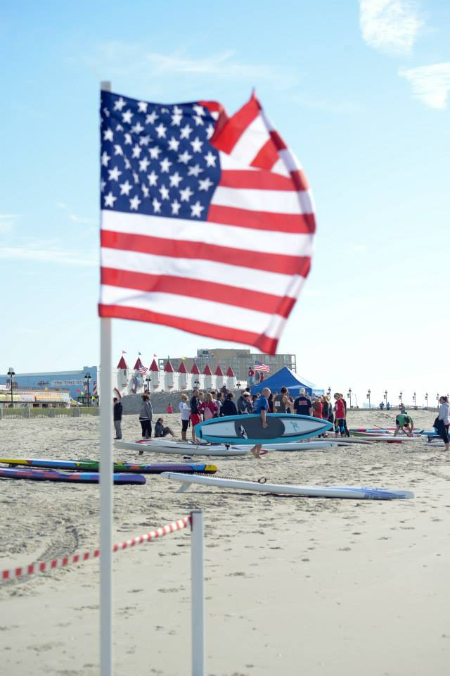 Memorial Day Beach Challenge in Ocean City