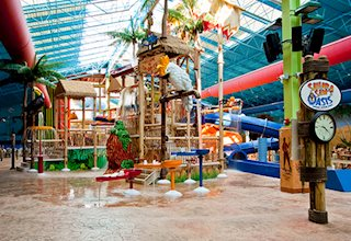 Sahara Sam's Oasis Indoor & Outdoor Water Park:  Parties