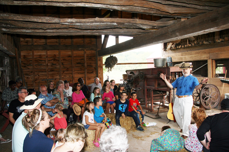 26th New Jersey Storytelling Festival at Howell Living History Farm