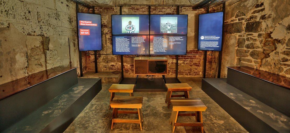 Eastern State Penitentiary - Video Room