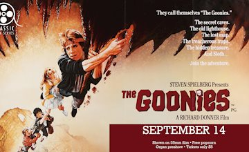 Classic Film Series on 35mm: THE GOONIES at Union County Performing Arts Center