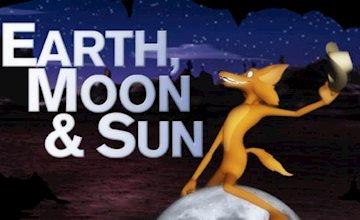 Earth, Moon, Sun & Coyote at RVCC Planetarium