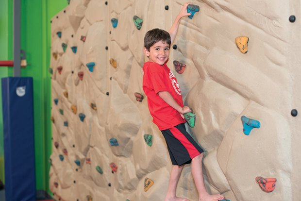 Climbing to great heights in our immaculate State of the Art facility.