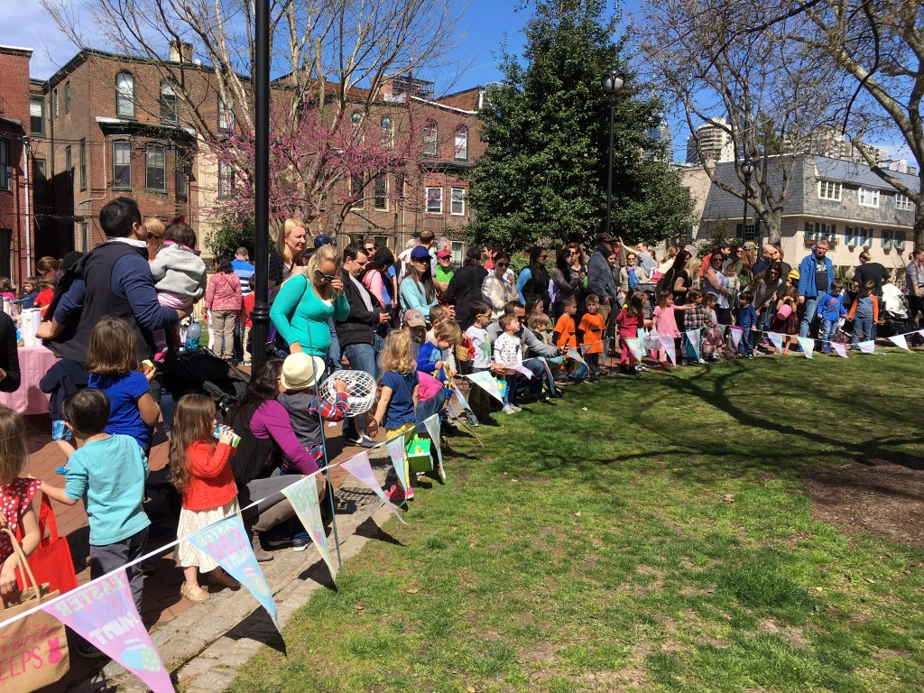 Fitler Square's Easter Egg Hunt