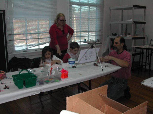 Art Outreach Programs including Classes for Children with ASD and Special Needs