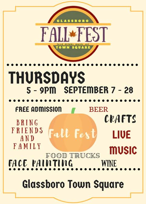 Fall Festival in Glassboro
