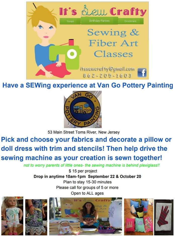 Have a SEWing Experience in Toms River